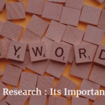 Keyword Research : Its Importance and Use
